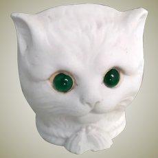 Fab Bisque Cat Night Light c1910