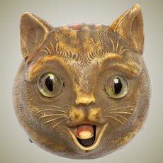 Rare Edwardian Cat Counter Bell c1910