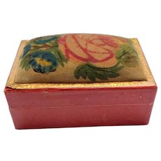 Miniature Theorem Sewing Box c1860