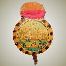 Early Tunbridgeware Sewing Clamp c1820