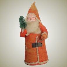 Santa Christmas Tree Decoration c1930