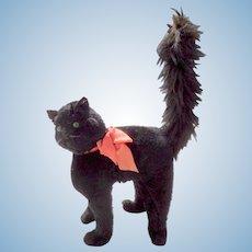 Life Size Black Cat c1920