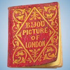 Bijou Picture Of London Book c1850