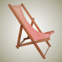 Fun Old Miniature Deckchair