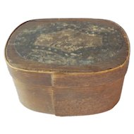 Small German Bentwood Box For Dolls c1880