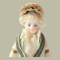 Fernand Sustrac Mignonette Doll Jointed Elbows c1870