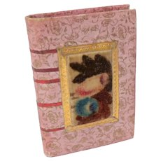Book Form Theorem Pin Cushion c1830