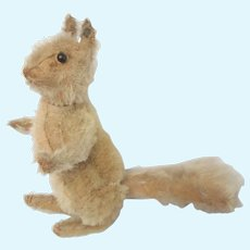 Steiff Squirrel Fully Jointed FF Button In Ear