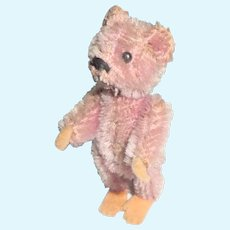 Sweet Lilac Schuco Piccolo Teddy Bear c1920