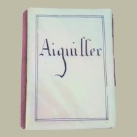 Tiny Mother Of Pearl Needlecase Aiguiller c1860