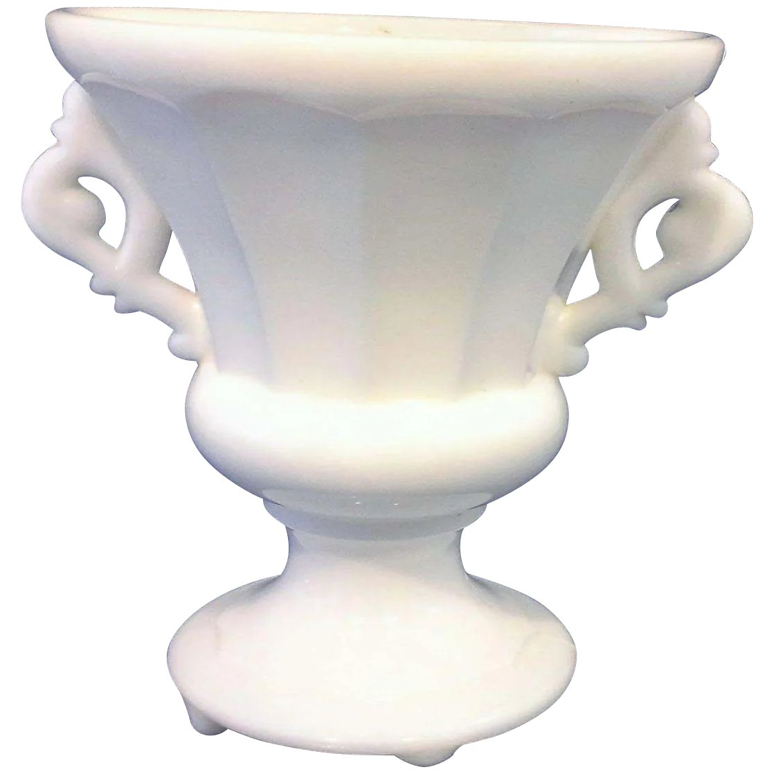 White milk glass urn vase paneled elaborate handles art deco white milk glass urn vase paneled elaborate handles art deco click to expand reviewsmspy