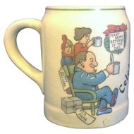 Celebration Happy Birthday for Papa Small Stein Mug Tankard
