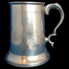 GE General Electric Engraved Pewter Stein Jostens Made in England