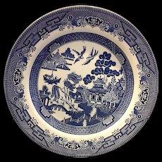 Churchill England Blue Willow Dinner Plate
