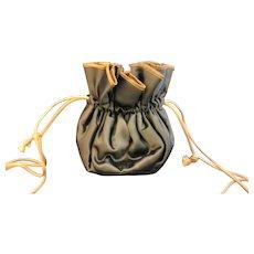 Satin Drawstring Pouch Jewelry Travel Case Bag Anti-Tarnish Lining The Jewelry Saq