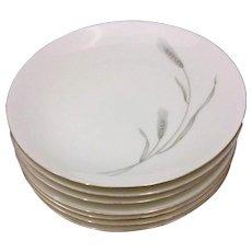 Johann Haviland Silver Bread Plates