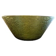Anchor Hocking Soreno Avocado Green Large Salad Serving Bowl