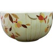 Hall Autumn Leaf Jewel Tea 6 IN Mixing Bowl Radiance Shape
