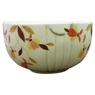 Hall Autumn Leaf Jewel Tea 6 IN Mixing Bowl Radiance Shape