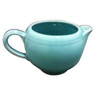Early California Pottery Light Blue Creamer Metlox Poppytrail Vernon