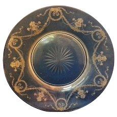 Fostoria Garland Etch 237 10 1/2 IN Dinner Plate