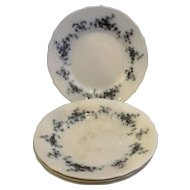 Erina Flow Blue Alfred Meakin Salad Plates Set of 4