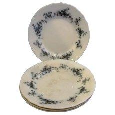 Erina Flow Blue Alfred Meakin Salad Plates Set of 4