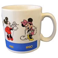 Minnie Mouse Through The Years Ceramic Coffee Mug Applause Made in Korea