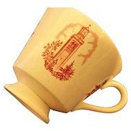 College of Saint Teresa Wedgwood Teacup Red Transferware