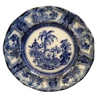 Kyber Flow Blue Adams China 9 IN Salad Plate
