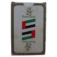 Emirates Air Souvenir Deck of Cards 1980s
