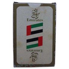 Emirates Air Souvenir Deck of Cards 1980s