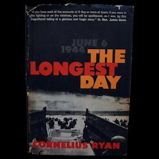 The Longest Day Cornelius Ryan 1959 Simon Schuster Book Club Edition
