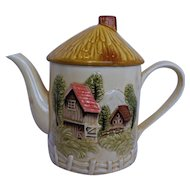 Cottage Ware Marks Rosenfield Pottery Tea Pot Coffee Pot Made in Japan