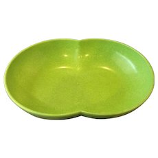 Branchell Color Flyte Lime Green Melmac Oval Bowl