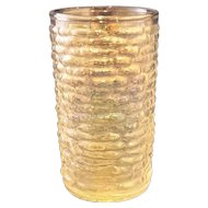 Soreno Aurora Juice Glass Iridescent Ribbed
