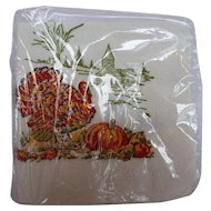 Thanksgiving Turkey Paper Napkins Set of 24 Mint Original Package S S Kresge