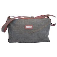 Samsonite Special Collection Tweed Carry On Weekender Travel Overnight Bag
