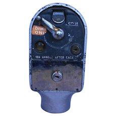 M H Rhodes Vintage 1940s Parking Meter 10 c Dimes Only