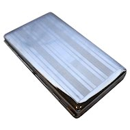 Colibri Machined Steel Double Sided Cigarette Cigarillo Case 5 IN