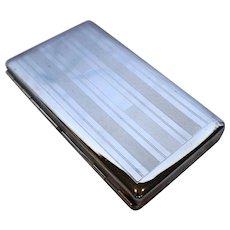 Colibri Machined Steel Double Sided Cigarette Cigarillo Case 5 IN