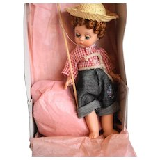 Madame Alexander Huckleberry Finn 490 Doll 8 IN MIB