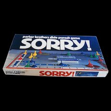 1972 Sorry Board Game Complete