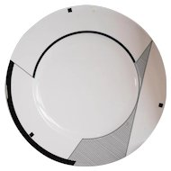 Christopher Stuart Angles Chop Plate Round Platter HK200