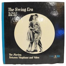 Time Life The Swing Era Vinyl Record Book Set 1936-1937 The Movies Between Vitaphone and Video