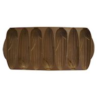 Nordic Ware 217 Cast Aluminum Corn Bread 7 Slot Pan