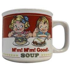 Campbell's M'm M'm Good! Soup Mug Westwood 1997