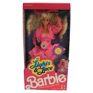 Barbie Lights & Lace 1990 NRFB Pink Dress