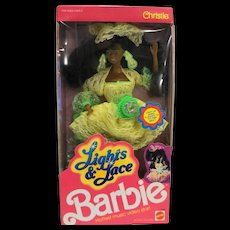 Barbie Christie Lights & Lace 1990 African American NRFB