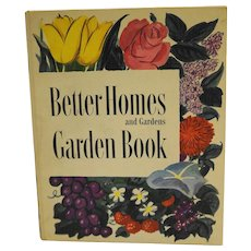Better Homes and Gardens Garden Book 1951 Ring Bound